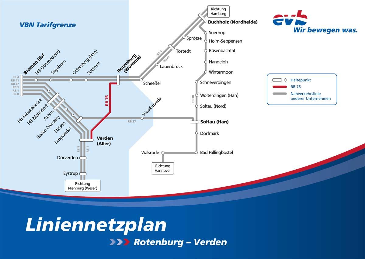 Eisenbahnen Und Verkehrsbetriebe Elbe Weser Gmbh